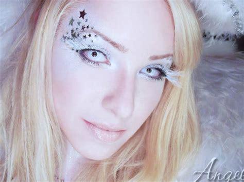 maquillaje halloween angel blanco maquillajerossa