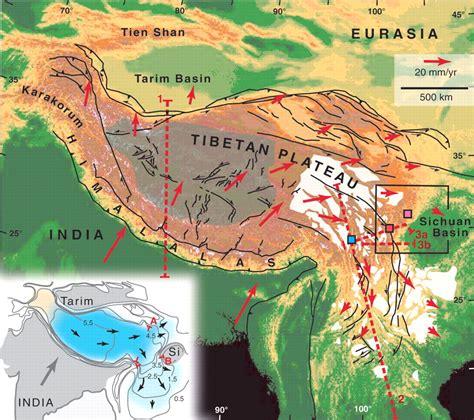geological evolution   tibetan plateau science
