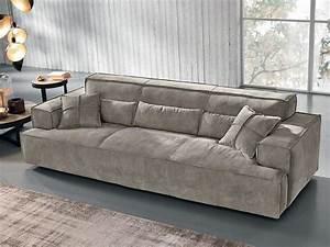 Sofa 4 Sitzer : 4 sitzer sofa nubukleder idfdesign ~ Eleganceandgraceweddings.com Haus und Dekorationen
