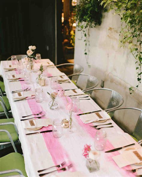 pink bridal shower ideas and decorations we love martha stewart weddings