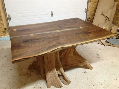what is a live edge table hand made live edge black walnut dining room table by bois