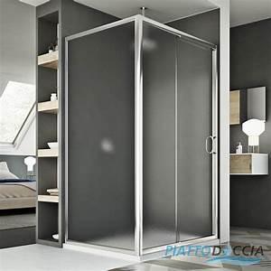 Cabine De Douche En Verre : cabine de douche 2 parois porte unique coulissante en ~ Zukunftsfamilie.com Idées de Décoration
