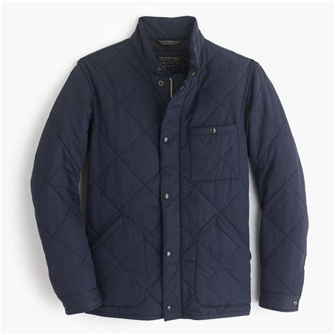 j crew quilted jacket sussex quilted jacket s coats jackets j crew