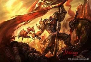 Warrior - by dicksu   Warcraft - Horde vs Alliance ...