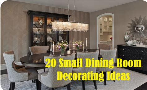 decorating ideas for dining rooms 20 small dining room decorating ideas