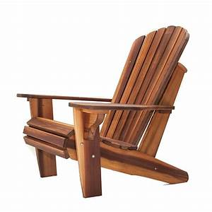 Adirondack Chair Kit Tofino Cedar Furniture