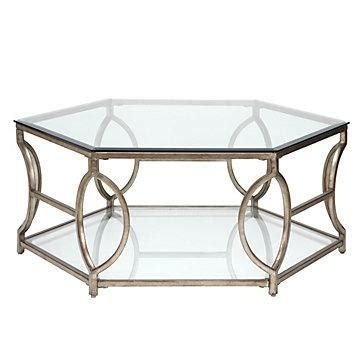 Both color and texture will vary slightly. Brooke Hexagonal Coffee Table - Z Gallerie