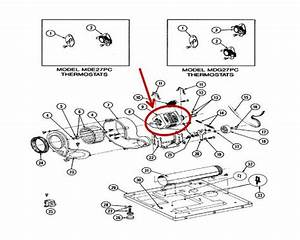 Whirlpool Part  W10410999 Drive Motor