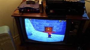 Nintendo 64 Demonstration 1973 Rca Color Tv