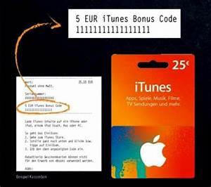 Itunes Karte Auf Rechnung : itunes karten 5 euro bonus guthaben bei lidl iphone ~ Themetempest.com Abrechnung