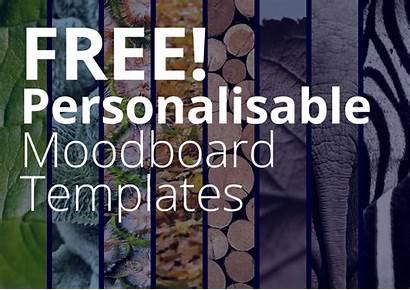 Template Moodboard Mood Board Play Desk
