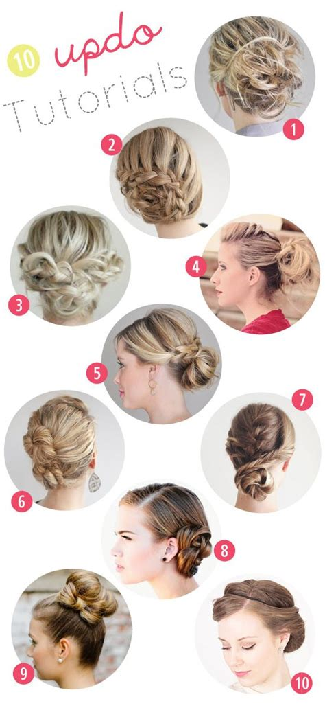 10 great hair updo tutorials for this fall by wilma