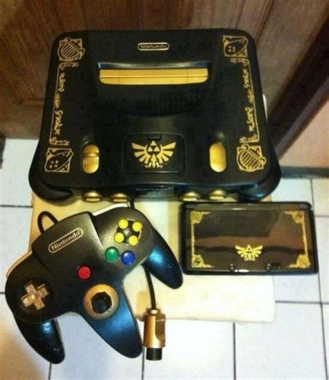 Matching Limited Edition Zelda 3ds And N64 I Tiny