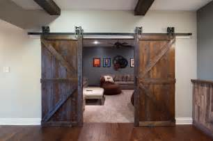 Traditional Dining Room Tables by Old World Basement Barn Doors Rustic Basement