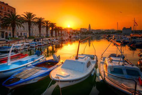 Harbour in the Morning   Split, Croatia - Sumfinity