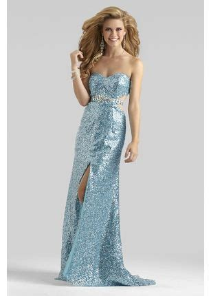 Strapless Blue Prom Dress 2327 | Prom dresses gowns ...