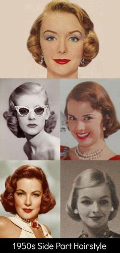 1950s Hairstyles For Medium Length Hair by 1950s Hairstyles 50s Hairstyles From To