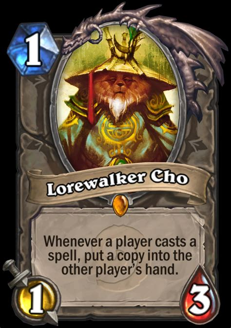 Lorewalker Cho Deck Priest by Hearthstone Introduces New Standard And Play Formats