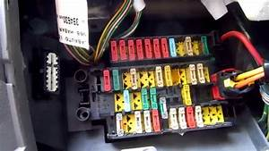 Fuse Box Locations   Obd On Xsara Picasso  2 0hdi  Year