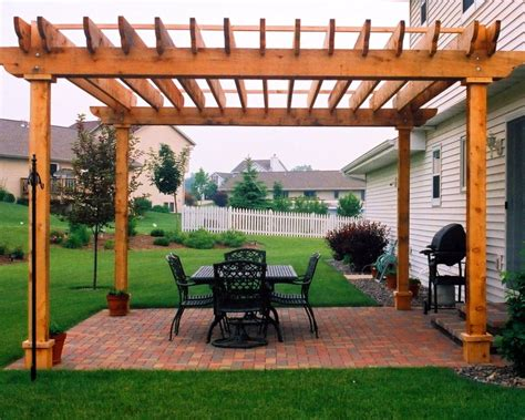 pergola ideas for patio patios and pergolas ship design