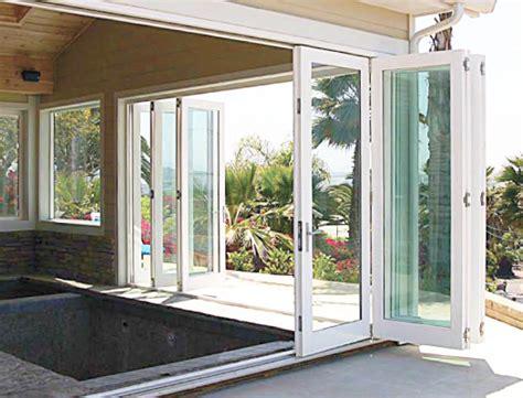 overture exterior folding doors vinyl windows doors