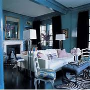 Chic Coles Gorgeous Rooms Painted Blue Some Designers Love Painting An Accent Wall Others Would Never Even Minimal Living Room In The Black On White House By Parasite Studio Charming Pinterest Living Room Ideas 3 2016 Trends For Living Room