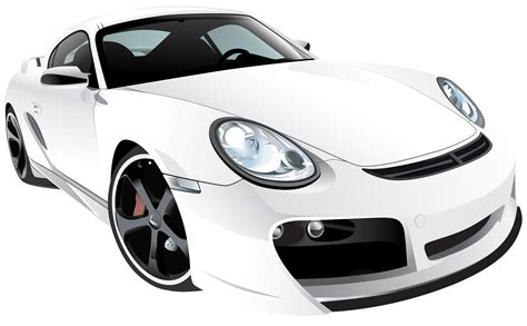 Sport Cars Png by White Sport Car Png Clip Best Web Clipart