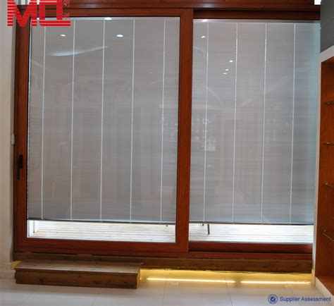 Sliding Door With Blinds In The Glass by Sliding Doors With Blinds Between Glass Buy Sliding