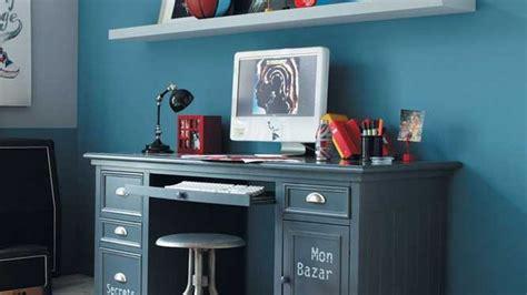 deco bureau bleu
