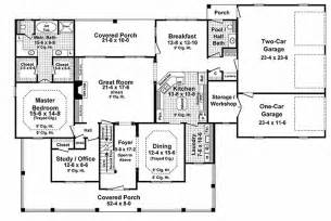 Country Style House Floor Plans Country Style House Plan 4 Beds 3 5 Baths 3000 Sq Ft Plan 21 323