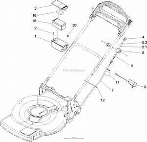 Toro 20031  22in Recycler Lawnmower  2004  Sn 240000001