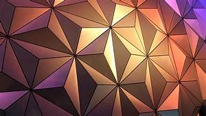 Lighting, Creating, Triangle, In, Dome, Abstract, Wallpaper