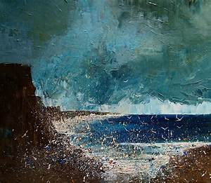 Brooding seascapes and marine vessels painted by justyna for Seascapes justyna kopania