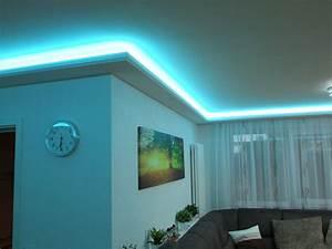 Indirekte Beleuchtung Wohnzimmer Wand : 1 meter indirekte beleuchtung led lichtprofile wand decken beleuchtung bl 05 aydin stuck ~ Sanjose-hotels-ca.com Haus und Dekorationen