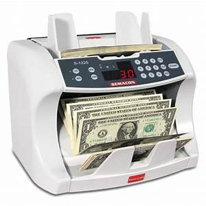 semacon s 1225 uv mg money counter cash counter currency With letter counting machine