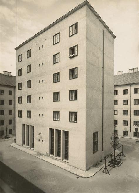 Klosehof, Volkswohnhaus, Wien 192425, Architekt Josef