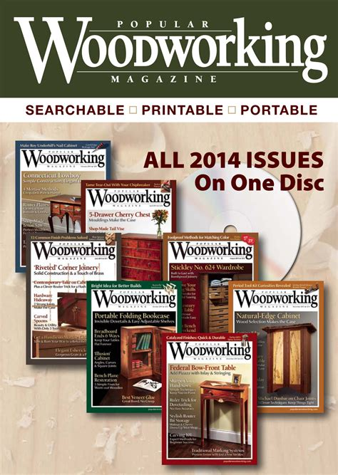 popular woodworking magazine  collection digital