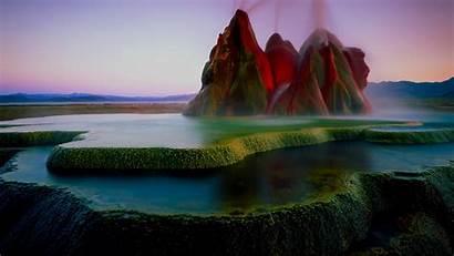 Geyser Nevada Fly Washoe County Desert Rock