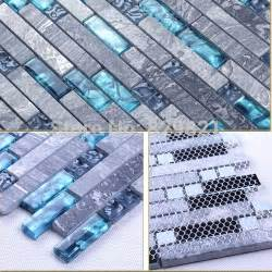 discount kitchen backsplash tile blue glass mosaic tile mixed grey mosaic for kitchen