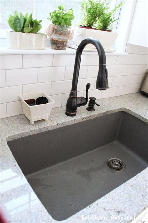grey kitchen sinks metallic gray blanco sink 1504