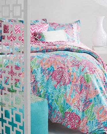 lilly pulitzer 174 perfectly printed percale bedding
