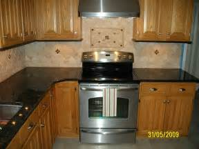 Kitchen Granite Backsplash Kitchen Granite With Tile Backsplash Flickr Photo