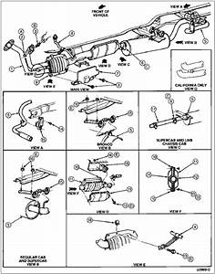 Ford Bronco Exhaust System Diagram  Ford  Free Engine