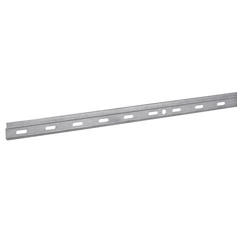 fixation meuble haut cuisine leroy merlin 1 rail pour suspension de meuble acier zingué hettich l