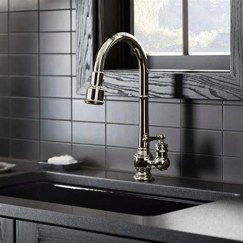 KOHLER K 99259 CP Artifacts Single Hole Kitchen Sink