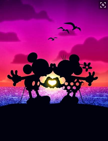mickey  minnie mouse love disney disney mickey