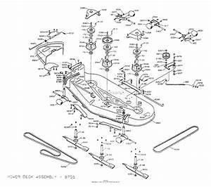 Dixon Ztr 5022  1999  Parts Diagram For Mower Deck 60 U0026quot