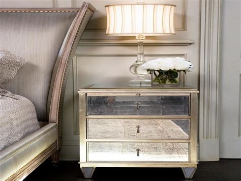 Mirrored Nightstands Cheap by Mirrored Nightstands With Drawers Home Inspirations