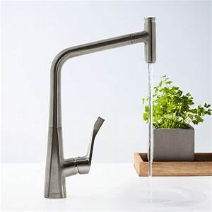 Hansgrohe Metris Select : hansgrohe metris select with pull out spout single lever swivel spout 320 chrome kitchen mixer ~ Eleganceandgraceweddings.com Haus und Dekorationen