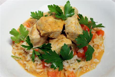 poulet au curry lait de coco riz par alain ducasse